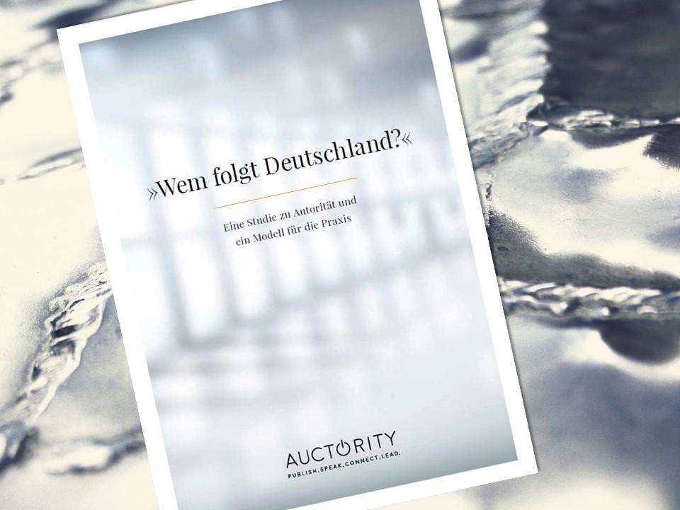 Auctoriy, Autorität, Führung, Randolf Jessl, Crosswater Job Guide,