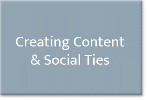Button Creating Content Social Ties