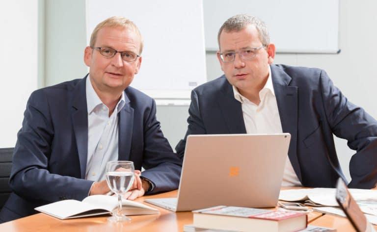 Foto Randolf Jessl und Andreas Scheuermann